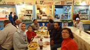 Repas de poisson au port d'Agadir