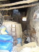 Chauffage d'un hammam datant des romains