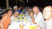 Veillée camarguaise : repas avec nos voisins de c-car