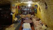 Intérieur d'une maison troglodytique