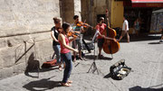 Animation musicale de rue