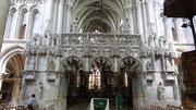 Troyes : intérieur d'une église