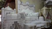 Fabrication de fauteuils de mariés