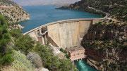Barrage et lac de Bin El Ouidane