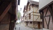 Troyes : centre historique avec maisons à colombages