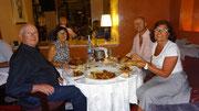Au resto à Marrakech