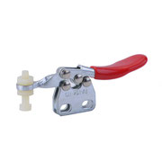 Horizontal toggle clamp with vertical mounting base