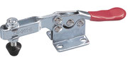 Horizontal toggle clamp with horizontal mounting base