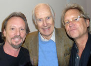 the legendary Dewey Bunnell, Sir George Martin & Gerry Beckley / AMERICA