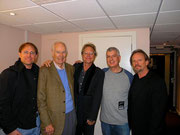Sir George Martin, Gerry Beckley, Steve Levine & Dewey Bunnel
