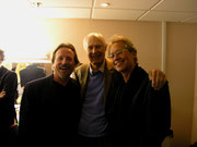 the legendary Dewey Bunnell, Sir George Martin & Gerry Beckley / AMERICA - London - Hammersmith 2007
