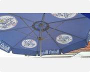 Bierinsel Schirm
