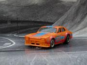 AURORA AFX Ford Escort orange/blau/rot #46