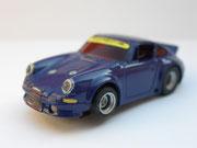 Porsche Carrera 911 blau mit Licht