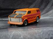 AURORA AFX Custom Van orange/schwarz/purple #1942