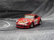 Porsche 934 RSR Gelo POLIFAC  #64 LeMans 1974