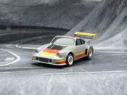 AURORA AFX Porsche 934 RSR silber #9