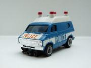 AURORA AFX Dodge Van Police blau / weiß