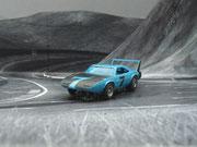 AURORA AFX Daytona Charger blau/schwarz #7
