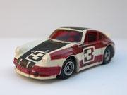 AURORA AFX Porsche Carrera weiß/schwarz/rot #3 Variante 2