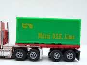 AURORA AFX 30' Flatbed w. Container Mitsui O.S.K Lines