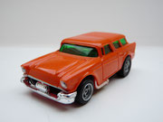 AURORA AFX Chevy '57 Nomad orange/weiße side pipes