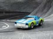 AURORA AFX Chevelle Stocker blau-limette-silber #17