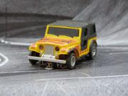 AURORA AFX Jeep CJ-7 4x4 gelb/orange
