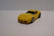 AURORA AFX Corvette Produktion A gelb