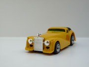 """AURORA AFX Roarin'Rolls """"Golden Ghost"""" gelb / schwarz #1923"""