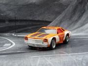 AURORA AFX Chevelle Stocker orange/weiß/schwarz #17