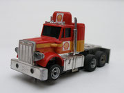 AURORA AFX Peterbilt Truck rot/orange