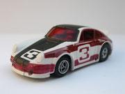 AURORA AFX Porsche Carrera weiß/schwarz/rot #3 Variante 1