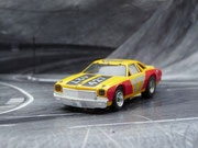 AURORA AFX Chevelle Stocker gelb/rot/schwarz #17