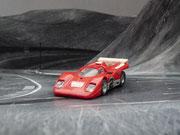 AURORA AFX Ferrari 512M rot/weiß/silber #2