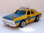 AURORA AFX Chevy Police gelb/blau Variante 1