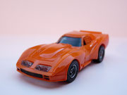 AURORA AFX Corvette GT orange