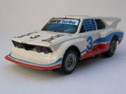 AURORA AFX BMW 320 Turbo weiß/rot/blau #3