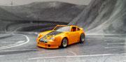 AURORA AFX Porsche Carrera orange/schwarz #3