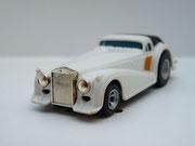 """AURORA AFX Roarin' Rolls """"Golden Ghost"""" weiß / schwarz #1923"""