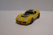 AURORA AFX Corvette Produktion A gelb / schwarz