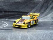 AURORA AFX Porsche 934 RSR gelb/braun #31
