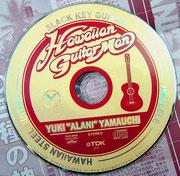 CD用タイトルロゴ「Hawaiiann Guitarman」+レーベルデザイン