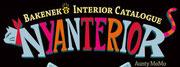 本タイトルロゴ「Bakeneko Interior Catalogue NYANTERIOR」