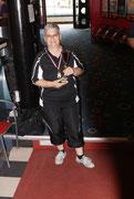 1.Platz Einzel-Damen: Monika Gottwald