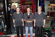 2.Platz Mannschaft-Magistrat 3: Henry Ohm, Ralf Saß, Jumbo Kuhlmann