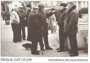 """SOUILLAC 25 fevrier 1990 Salon Regional des Collectionneurs """"dit de Printemps"""""""