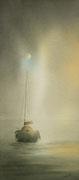 Soleil brumeux - 20x45 cm