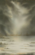 Brume hivernale - 33x53 cm