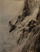 De Roche et d'eau _ 2 - 43x33 cm